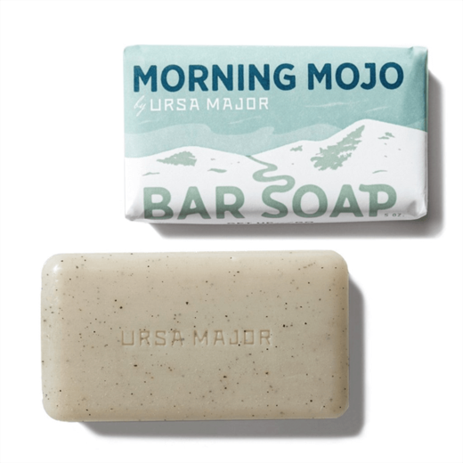 Morning Mojo Bar Soap thermos