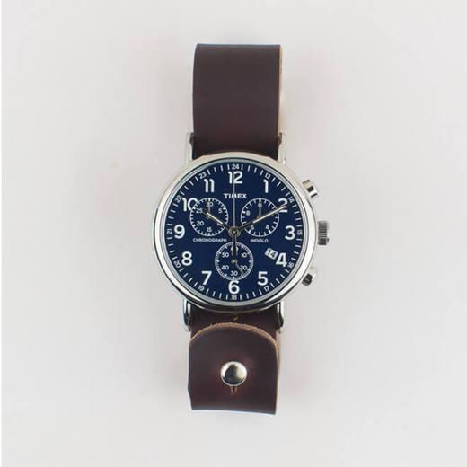 Button-Stud Timex Chronograph